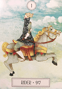 ルノルマン恋占い騎士の意味