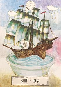 ルノルマン恋占い船の意味