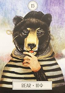 ルノルマン恋占い熊の意味