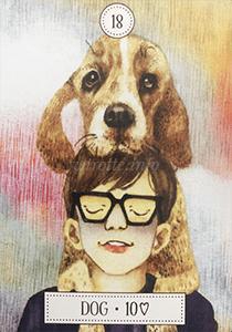 ルノルマン恋占い犬の意味