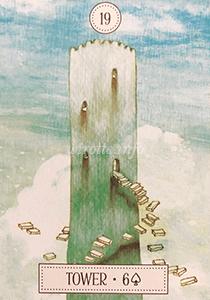 ルノルマン恋占い塔の意味