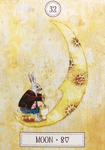 ルノルマン恋占い月の意味