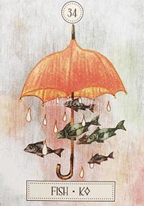 ルノルマン恋占い魚の意味