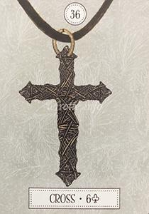ルノルマン恋占い十字架の意味