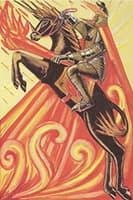 Knight of Wands: ワンドの騎士